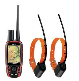 Garmin Astro 320 Dog GPS Tracking Combo Bundle with 2 DC40 Collars