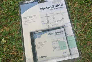 Garmin MapSource Metroguide North America GPS Mapping Software