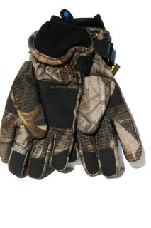 Jordans Realtree Hardwoods 10x Camo Hunting Gloves Waterproof