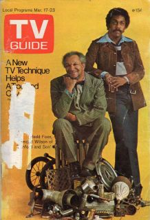 TV Guide   Redd Foxx   Sanford and Son   Tom Sawyer   A Touch of Grace
