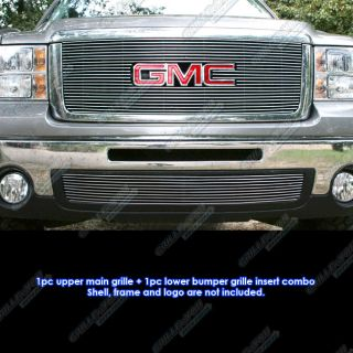 07 2011 GMC Sierra 1500 New Body Style Stainless Steel Billet Grille
