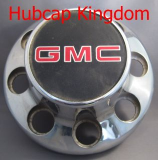 GMC Sierra Express 3500 Dually 8 Lug Center Cap Chrome Rear