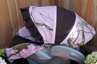 Graco SnugRide Infant Car Seat Cover Realtree AP Pink Camo