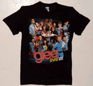 UNWORN 2011 Glee Live on Stage Tour T Shirt Size XL