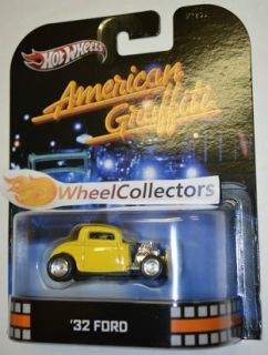Ford American Graffiti 2013 Hot Wheels Retro Entertainment 1 64 Scale
