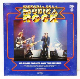 Historia de La Musica Rock Graham Parker and The Rumour RARE Vinyl LP