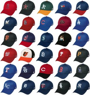 Fitted MLB Officially Licensed Baseball Mesh Caps Hats