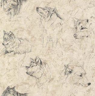 Glen Loates Wild Life Wolf Wolves Wallpaper GL21615