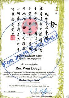 Kyokushin Kai Karate Shotokan Goju ryu Ryukyu Kenpo Jiu Jitsu 11x17