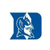 DUKE BLUE DEVILS CORNHOLE SET Blue w white pyramid 2 Duke fatheads 8
