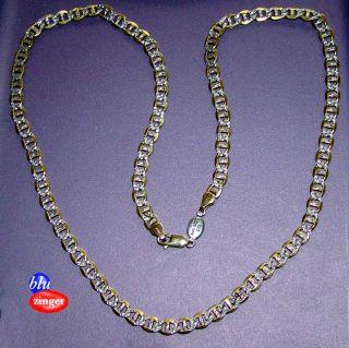 PGDA 925 2/25 14K 22 Necklace Sterling Silver / Gold Piercing Pagoda