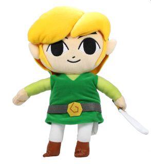 Authentic Brand New Global Holdings Zelda Plush 11 Link Stuffed