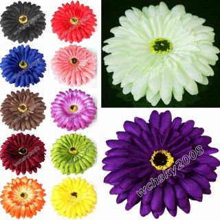 Heads Gerbera Daisy Wedding Birthday Party Home Decorations 4