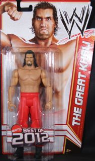 Great Khali WWE Series Best of 2012 Mattel Toy Wrestling Action Figure