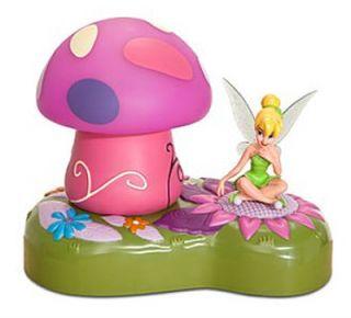 New Retired Disney Portable Tinker Bell Night Light Figurine Lamp