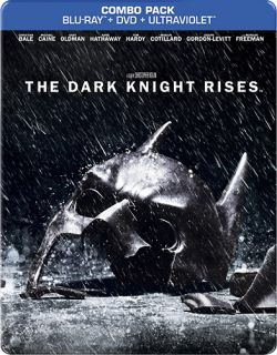 KNIGHT RISES STEELBOOK Blu ray DVD Combo BEST BUY EXCLUSIVE Pre Order