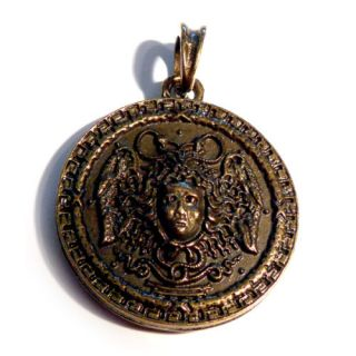 Pcs Medusa Pendant Greek Mythology Jewelry Necklace