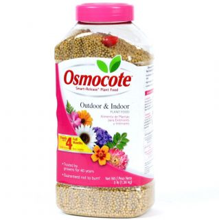 Osmocote 3 lb Outdoor Indoor Plant Food Granules