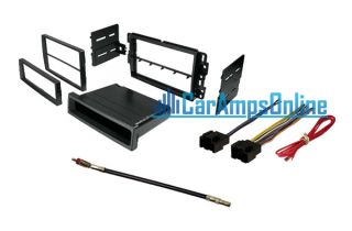 Car Stereo Radio Kit Dash Installation Mounting Trim Bezel w Wiring