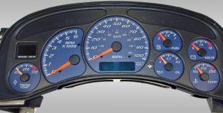 Silverado Sierra Gauge Face Chevy GMC 99 00 01 02 2500