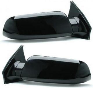 Set of 2 Mirror New Primered Chevy Manual Chevrolet Astro GMC Safari
