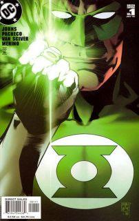 Green Lantern #1   Comic Book Cover