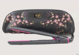 GHD Pink Cherry Blossom 1 Gold Hair Straightener Flat Iron New Fall