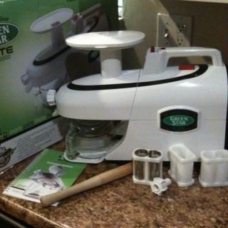 Green Star Elite Jumbo Twin Gear Juice Extractor GSE 5000 Juicer