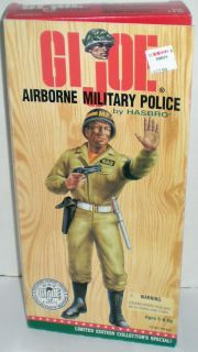Gi Joe WWII Airborne Military Police 12 Action Figure 1996 Hasbro