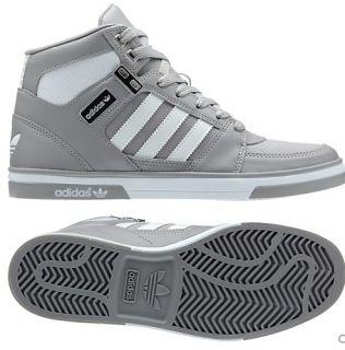 New Adidas Originals Mens Hard Court Hi 2 0 Gray White Shoes Retro