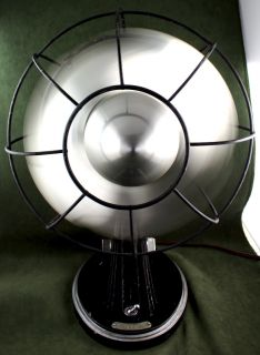 ART DECO MACHINE AGE MODERNIST 1930s GRAYBAR ELECTRIC FAN WORKING RARE