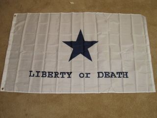 Goliad Battle Flag 3x5 Feet Texas Revolution Texan TX Liberty or Death