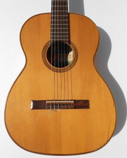 Giannini AWN 60 Brazilian Made Late 60s Classical Acoustic Guitar