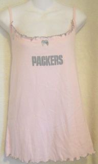 Green Bay Packers Womens Tank Top Sleep Shirt