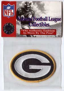 NFL Green Bay Packers Helmet Logo Patch MINT Made in the USA FAST