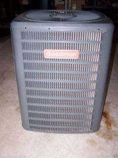 used GOODMAN 2 5 TON AIR CONDITIONER CONDENSER UNIT 13 SEER R22