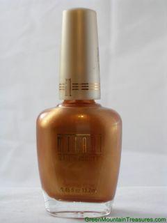 Milani Nail Polish 31 Golden Goddess Bronze Gold Metallic Opaque Color
