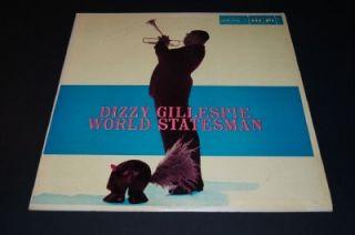 Dizzy Gillespie World Statesman 1956 Norgran Mono Jazz LP DG MGN 1084
