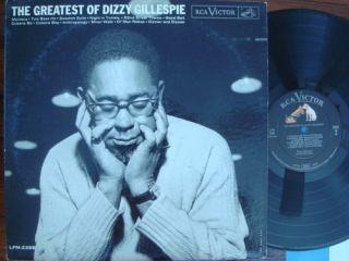 The Greatest of Dizzy Gillespie RCA Victor LPM 2398 DG Mono