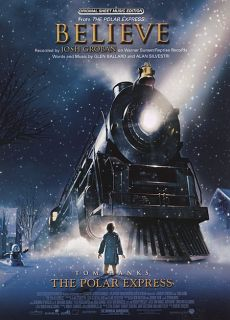 Josh Groban Believe from The Polar Express Piano Vocal Guitar Sheet
