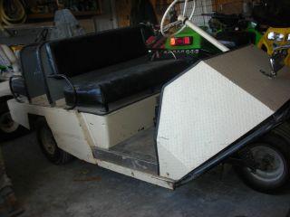 1960s Westinghouse 3 Wheel Golf Cart