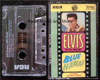 Elvis Presley Blue Hawaii Soundtrack Cassette
