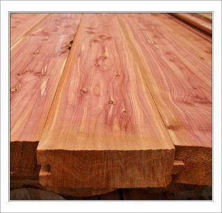 Native Ozarks Red Cedar Log Siding 2x6 Tongue Groove