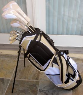 NEW Ladies Golf Set Complete Clubs Bag Womens Driver Wood Hybrid Irons