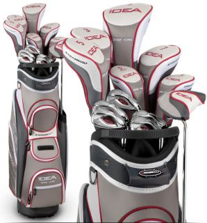 New Adams Golf Womens Idea A12 OS Complete Golf Set Ladies Sterling