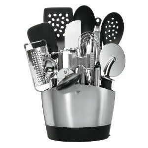 OXO Good Grips 15 Piece Everyday Kitchen Tool Set, Kitchen Gadgets