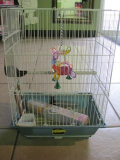 Parrot Bird Cage  African Grey Small Parrot 7983