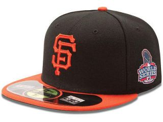 Official 2012 MLB World Series San Francisco Giants New Era Black Hat