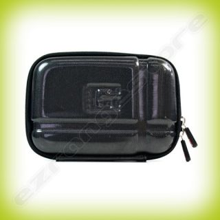 Black Shell GPS Carrying Case Cover Bag for Garmin Nuvi 1450 1490T