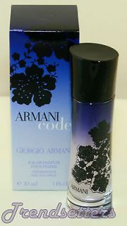 Giorgio Armani CODE for Women Mujer Ladies1.0oz/30 ml Eau de Parfum